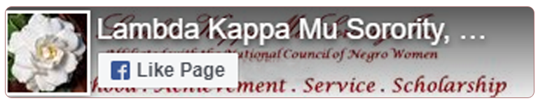 Like Lambda Kappa Mu Sorority, Inc. on Facebook
